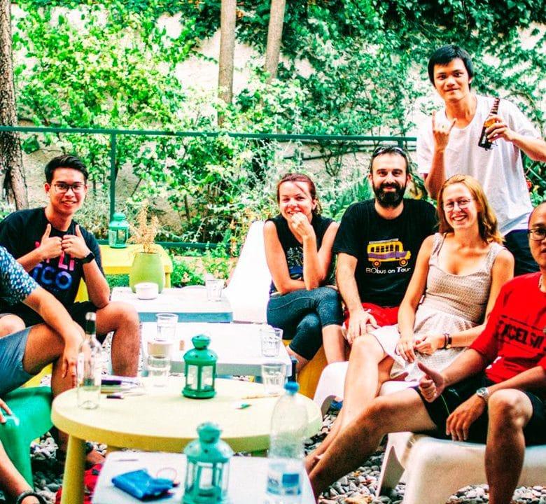 Client Garden House Hostel Barcelona